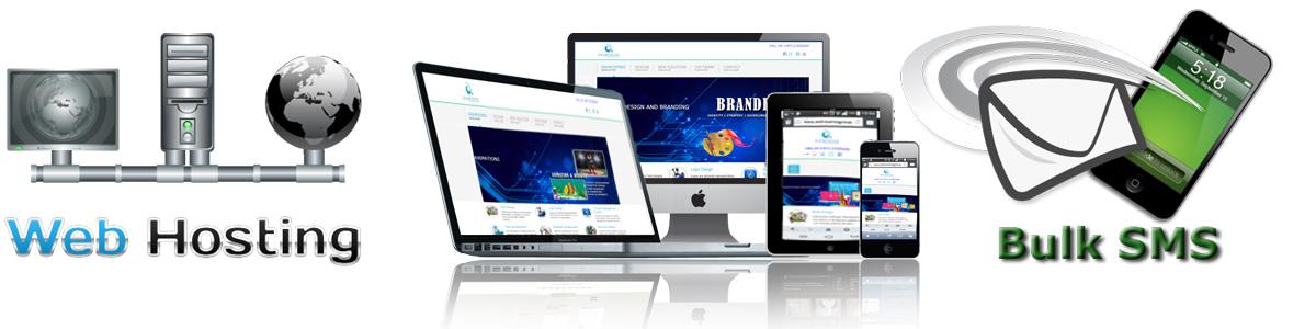 WEB HOSTING, web DESIGNING & BULK SMS at black knight africa