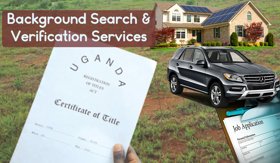 Background Search and Verification Services Uganda
